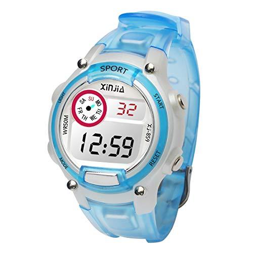Reloj Niños Reloj Electrónico Infantil Prueba Agua