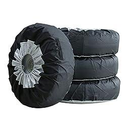 Universale 13–48,3cm–Borsa Tote pneumatico scorta di stoccaggio auto borse di stoccaggio antipolvere leggero pneumatico auto custodia