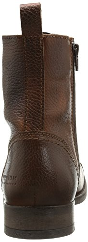 JACK & JONES Savek Herren Leather Stiefel Braun (Cognac)