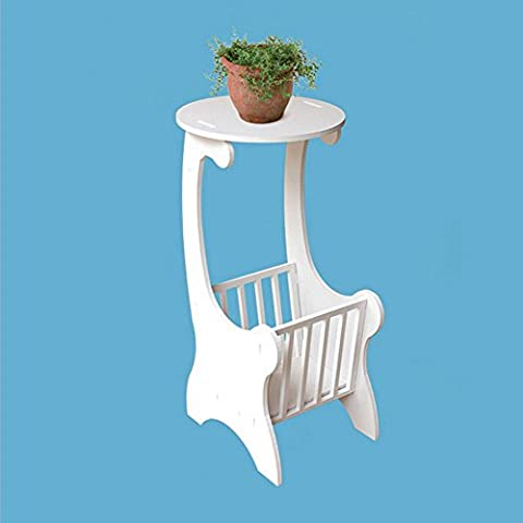 White Shabby Chic Round Side End Lamp Coffee Table Multi Function Space Saving \ Furniture Home House Cabinet Desk Shelf Stand Dresser Seat Dining Living Room Chairs Table Contemporary Stylish Unique Ottoman Stuff Parents Kids Outdoor Indoor Sleeping Beside Office Hotel Entrance Decorative Special Large Big Small Durable Quality Couch Bedroom Modern Kitchen Gadgets Wood Solid