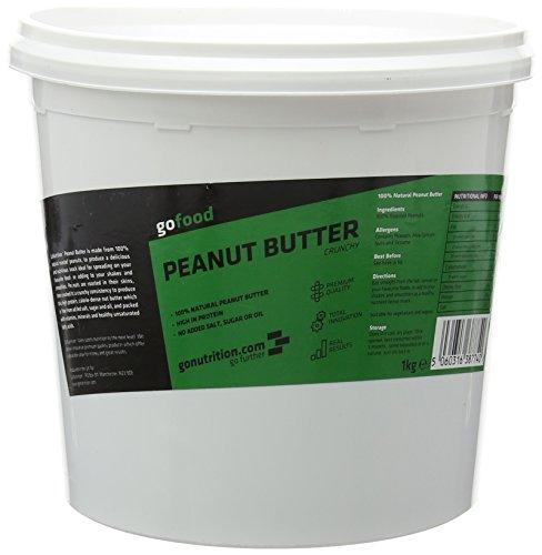 GoNutrition 1 kg Crunchy Peanut Butter
