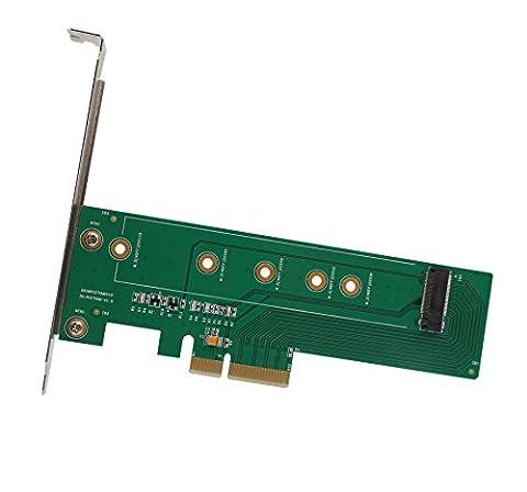 iocrest si-pex40110m.2NGFF m-key oder B + M Key to PCI-Express 3.0x 4Adapter Karte–Grün