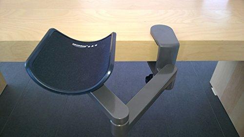 Car-Tuning24 53296494 Gelenksstütze Armstütze Schreibtisch Unterarmstütze Alu ergonomische Armauflage