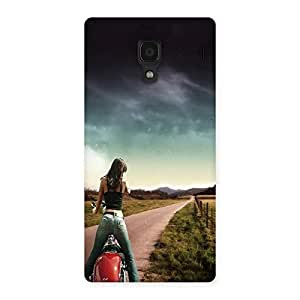 Unicovers Stunt Lady Back Case Cover for Redmi 1S