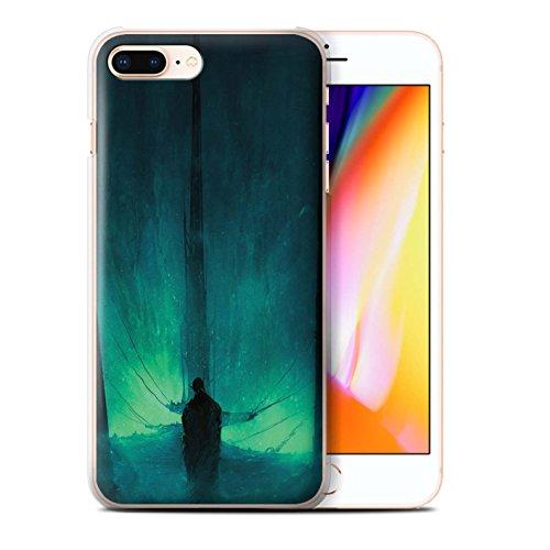 Offiziell Chris Cold Hülle / Case für Apple iPhone 8 Plus / Geist/Ghul Muster / Dunkle Kunst Dämon Kollektion Bösen Herzens