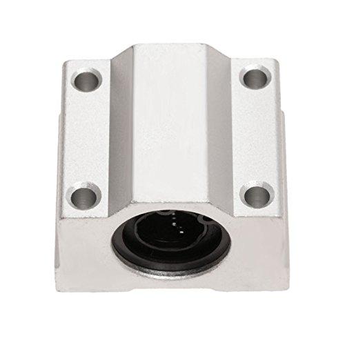 1Pc SC12UU Aluminium Linearlager Rutsche Dicke 25mm für 3D Drucker