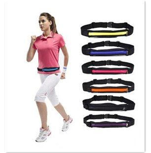 Domire Tragbare Laufen/Jogging Gürtel Taille Pack/Beutel/Brust/Bag-Halter für Outdoor Sports -