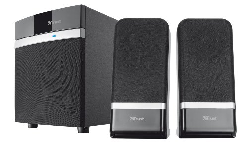 Trust-18925-Raina-21-PC-Speakers-with-Subwoofer-for-Computer-and-Laptop-20-W-USB-Powered-Black