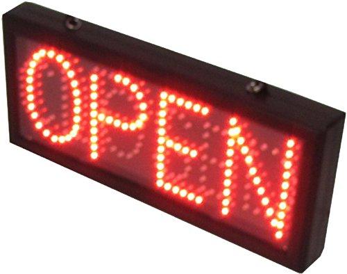 Cablematic - Panneau à message LED DisplayMatic ouvert ou fermé avec rouge et vert