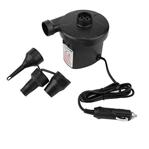 73JohnPol Smart Quick-Fill AC Elektrische Luftpumpe Beste für Luftmatratze Schlauchboot Kinder Planschbecken & Spielzeug Inflator und Deflator (Farbe: Schwarz)