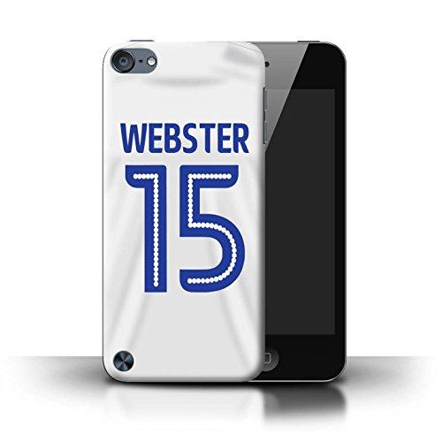 Preisvergleich Produktbild Offiziell Ipswich Town FC Hülle / Case für Apple iPod Touch 5 / Webster Muster / ITFC Trikot Away 16/17 Kollektion