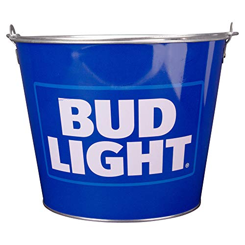 Bier Marke Full Color Aluminium Bier Bucket Bud Light (Light Blue)