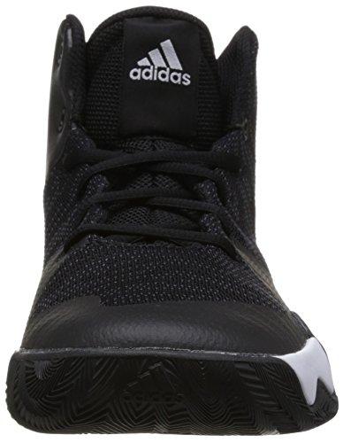 nucleo Flash Esplosiva Basket Scarpe Calzature Nero Uomo Nero Da Carbone Bianco Adidas q7q0Hr