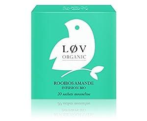 Løv Organic - Rooibos Amande - Boîte de 20 sachets
