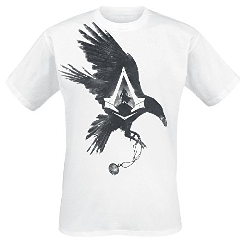Assassin's Creed Syndicate T-shirt -S- Krähe, wei