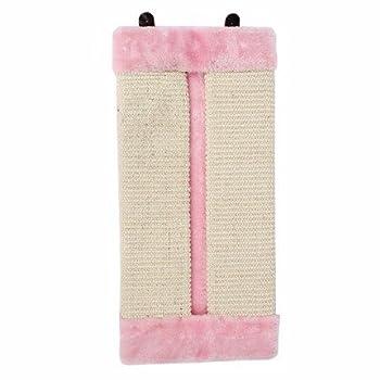 Sisal naturel grattant Conseil meulage griffes chat jouets vêtements protection canapé ,Rose