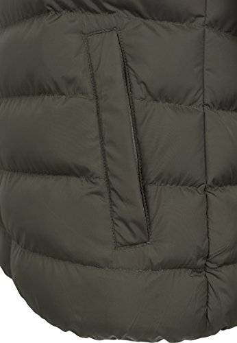 Urban Classics Herren Jacke Basic Bubble Jacket darkolive/black/darkolive