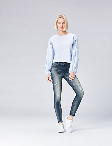 FIND Distressed Jeans Donna Blu (Mid Indigo)