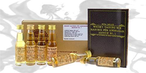 Vita Dulcis Tasting Box Whisky Nr. 1 rauchig für Einsteiger 6x0.02l