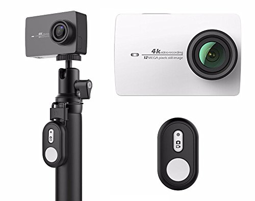 yi-4-k-action-camera-pearl-white-with-bluetooth-remote-control-selfie-stick-4-k-video-recording-12mp