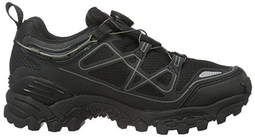 Viking Unisex-Erwachsene Anaconda Boa Iv Trekking-& Wanderhalbschuhe Schwarz (Black/Silver 246)
