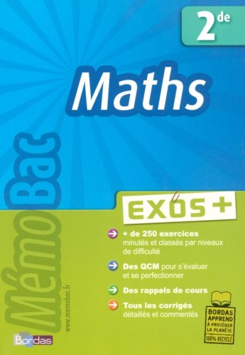 Maths 2e : Exos + par Michel Szwarcbaum
