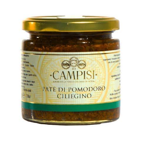 Tomaten Paste aus sonnengetrockneten italienischen Kirschtomaten in Öl eingelegt