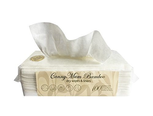 CannyMum Bamboo Luxurious Dry Wipes Refill. Disposable & Biodegradable. Made From Organically Grown Bamboo 41 2BQX7SQ 2BHL