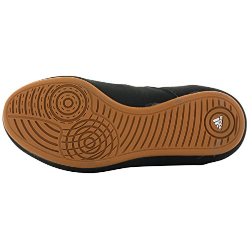 Adidas Hvc geschnürtes Wrestling Schuhe - 14 - Blau / rot / wei� Black/White