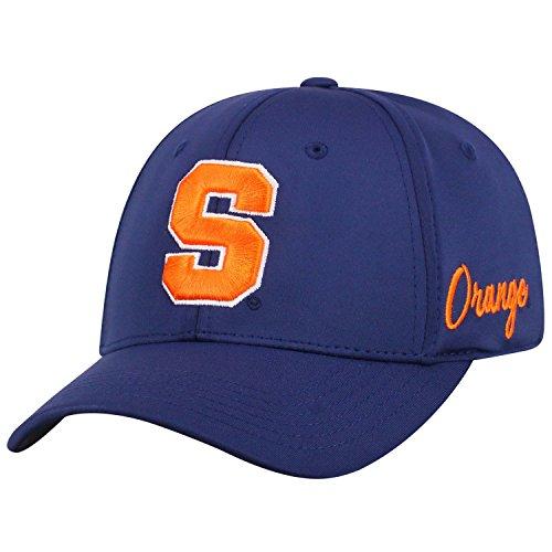 Top of the World NCAA Syracuse Orange Phenom Memory Fit 1fit Mütze Marineblau, verstellbar