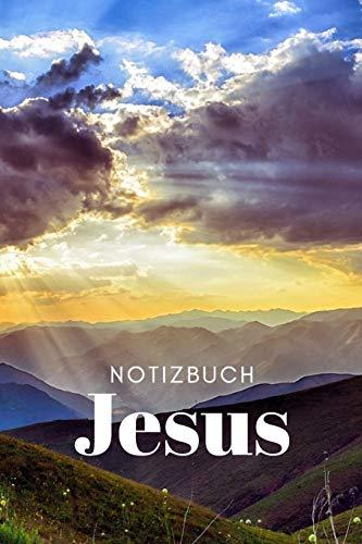 Notizbuch Jesus: Gespräche mit Gott in diesem wunderbaren linierten Tagebuch festhalten. 120 Seiten beiten genügend Platz für freies Schreiben deiner persönlichen täglichen Gebete.