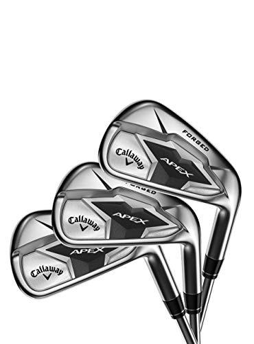 Callaway Golf Eisen/Iron Apex 19 Set I Herren I Golfschläger I Schlägersatz (Steel 5-PS (Stiff), Rechts)