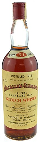 Macallan-Glenlivet Jahrgang 1938 - A Pure Highland Malt Scotch Whisky