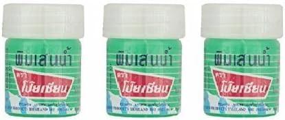 Poy Sian Pim-saen Balm Oil Aroma Refresh Inhalant Gel Health & Personal Care Products Thai Herbal Herb 8cc