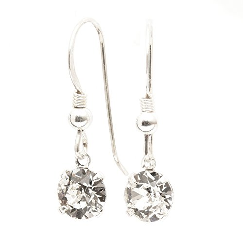 sterling-silver-fishhook-earrings-expertly-made-with-sparkling-diamond-white-crystal-from-swarovskir
