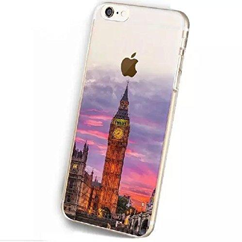 Vandot Ultra-thin Ultra-Light Mince Coque Housse Cas pour Apple Iphone 6S / Iphone 6 4.7 Pouces TPU Silicone Bumper Edge Case et Dur PC Plastique Cover Hull Design 1
