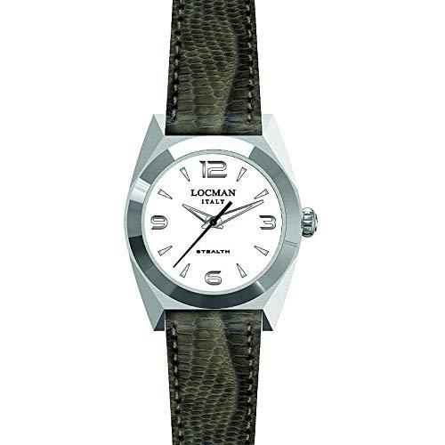 Reloj Solo Tiempo Mujer Locman Nstea clásico cód. 0804A08A-00WHNKPI