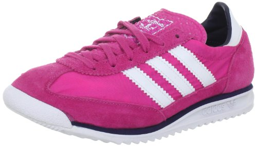 adidas Originals SL 72 W V25022, Damen Sneaker, Pink (BLOOM / RUNNING WHITE FTW / MARINE), EU 40 2/3 (UK 7)