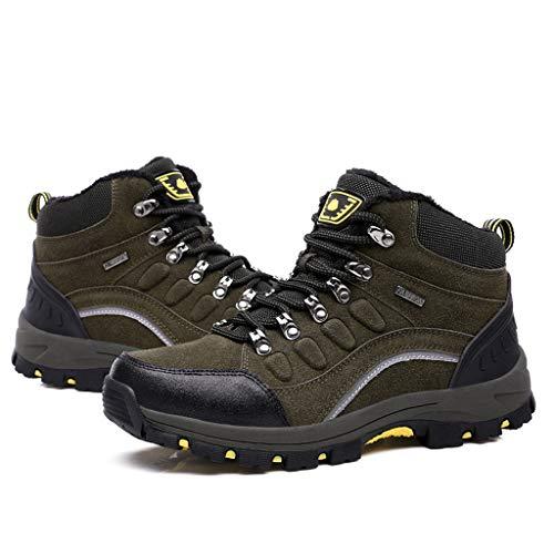 Womens Waterproof Combat Boot (Fascino-M』 Wanderschuhe Wasserdicht Trekking Schuhe Herren Damen Sports Outdoor Gleitsicher Hiking Boots Men Women Waterproof Trekking-& Wanderstiefel Dämpfung Sneaker)