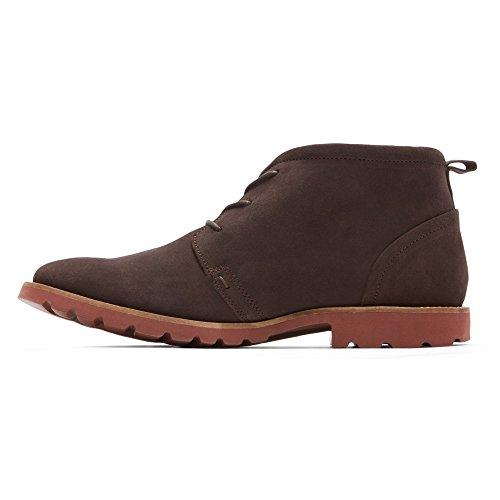 Brick Rockport Dark Schuhe Chocolate Channer Bitter OaOXr7