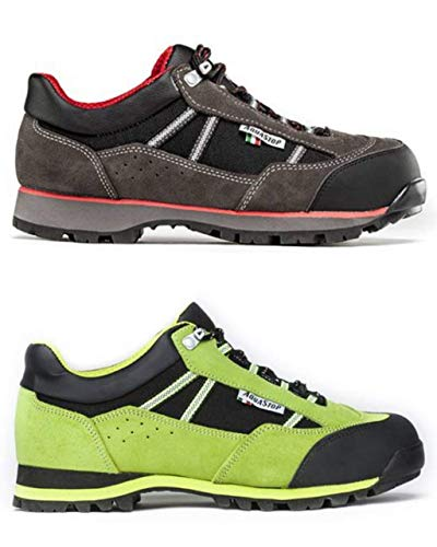 Shoes zapatos Schuhe chaussures Sicherheitsschuhe chaussures de sécurité TREEMME scarpa di sicurezza antinfortunistica pelle suola DEFENDER gomma antiscivolo fodera AQUASTOP Made in Italy cod. 91408