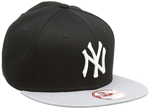 new-era-mlb-cotton-block-ny-yankees-9fifty-snapback-baseball-beretto-da-uomo-nero-black-grey-m