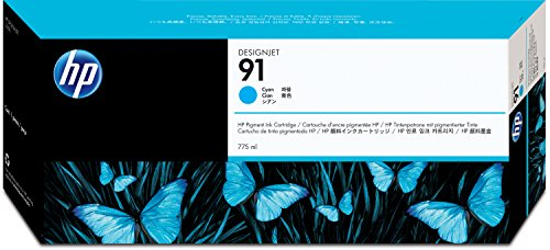 HP 91 Tête d'impression d'origine Cyan Vivera 775 ml