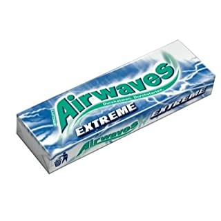 New Wrigley's Airwaves Extreme 420g (30x14g) Sugarfree Chewing Gum
