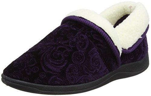Pantofole Da Donna Di Loto Wilsson, Viola Navy (viola)