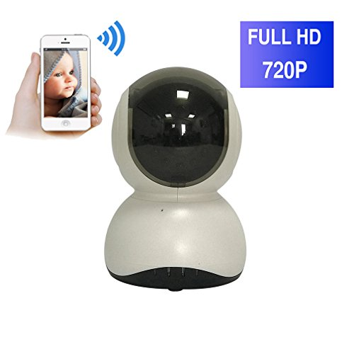 ShengyaoHul Détection De Mouvement Caméra De Surveillance Maison, 720P HD Indoor Système De Sécurité Ip Home Camera, Plug-And-Play Babyphone Avis Push Mobile / Voix Bidirectionnelle