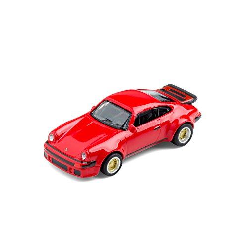 corpus delicti Modellauto mit Magnet für Kühlschrank und Pinnwand - Kultauto Porsche 934 RSR rot