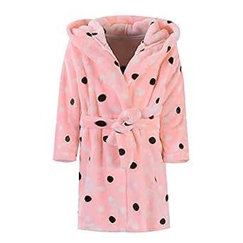 mamum robe de chambre en flanelle b b gar on fille automne hiver peignoir de bain avec capuche. Black Bedroom Furniture Sets. Home Design Ideas