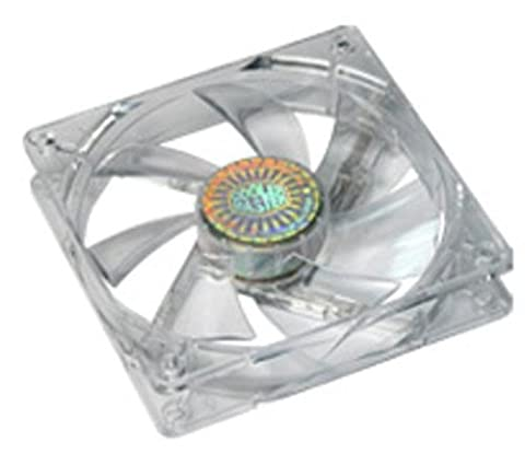 Cooler Master LED On/Off Fan 120 mm with Control Panel PC Kühlventilator (19.3 DB, transparent, 0,16 A, 1.92 W, 124 g, 120 x 120 x