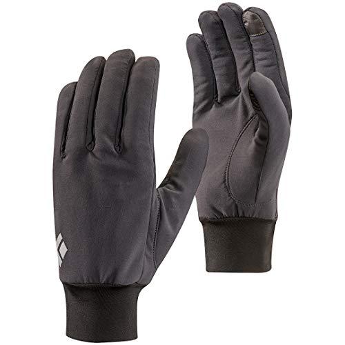 Black diamond lightweight softshell, glove unisex - adulto, smoke, medium